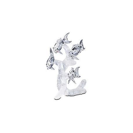 School of fish Swarovski Silver Crystal-666355-SWAROVSKI-www.monteroregalos.com-