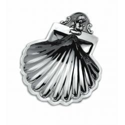 Silver Christening Shell