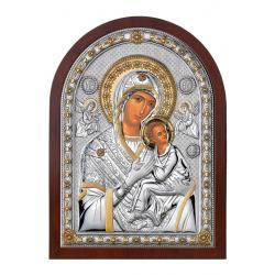 Odigritria Virgin Silver Icon