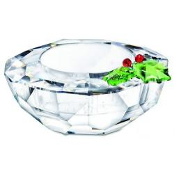 Holly Tea Light Candle Holder Swarovski