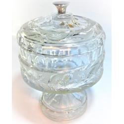 Caja Bombonera Cristal con Plata