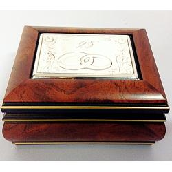 Silver and Wood Box